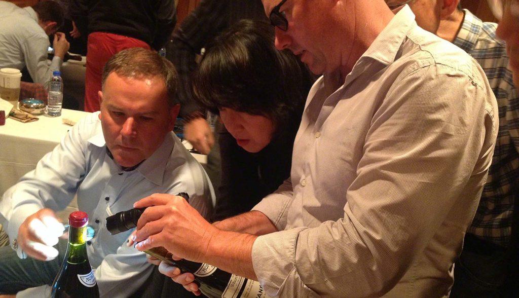 Warren training for Wine Fraud in Hong Kong