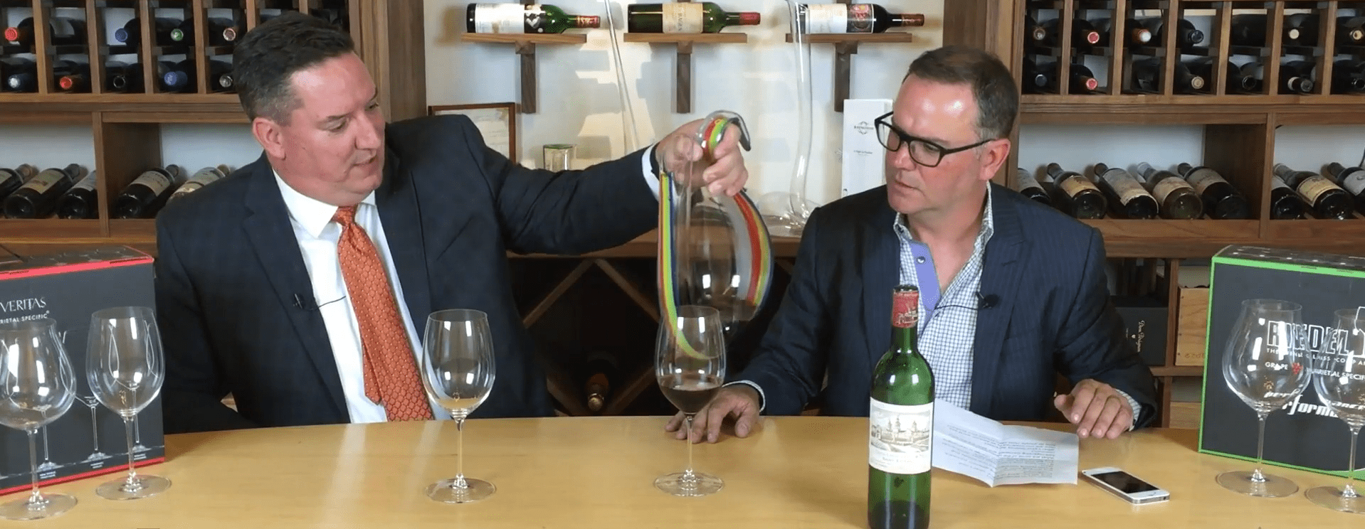 Behind Fine Wine | Riedel's Stewart Risto and Warren Porter Discuss Wine Stemware and Decanters