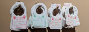 Wine tags from the cellar of the Steinberg collection