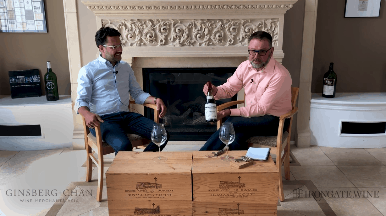 Jay of Ginsberg+Chan and Warren Discuss the Hong Kong and Asia Wine Market While Drinking A 1971 DRC La Tache